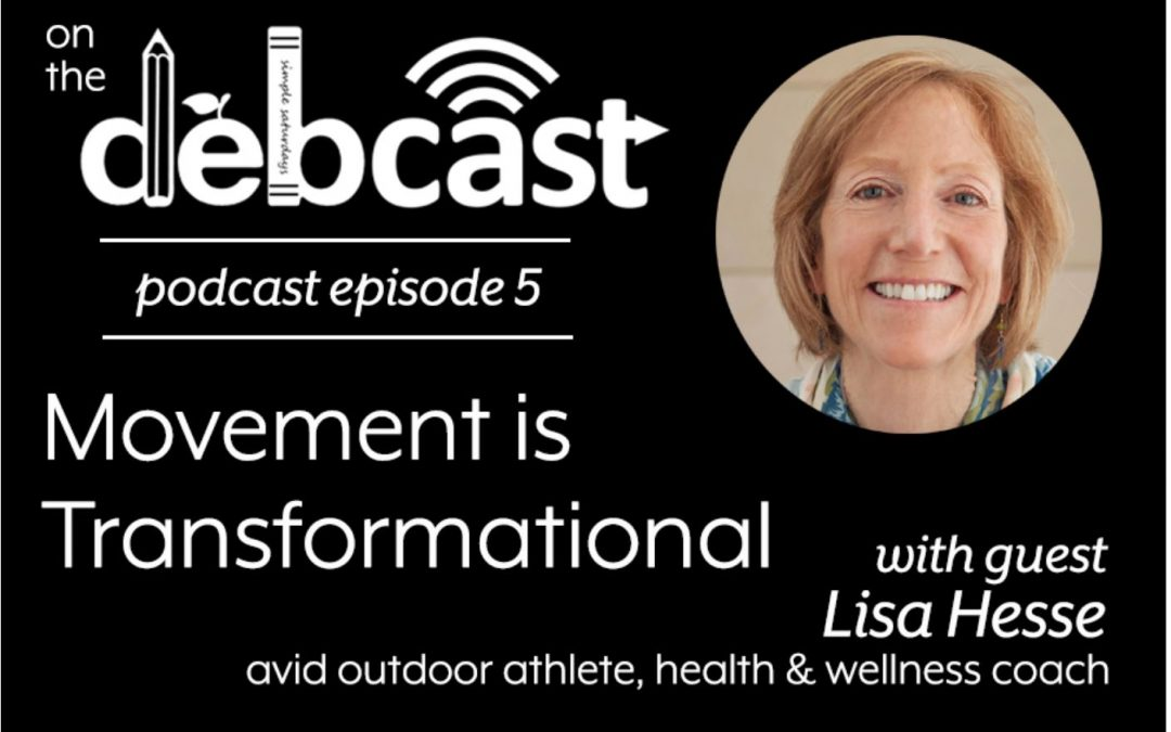 Listen to Lisa on the DebCast